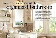 Bathroom Organization / by Patti Craven