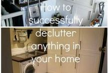 Cleaning - Decluttering The House / by Patti Craven