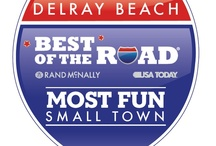 """Delray Beach / Explore the crystal clear Atlantic Ocean or visit unique galleries and boutiques on Atlantic Avenue by day; enjoy a night of dining and entertainment at any of Delray Beach's award winning cafés or restaurants. When you stay in """"Florida's Village by the Sea,"""" you will instantly feel the warm and friendly atmosphere that makes downtown Delray Beach such a joy to visit. Delray Beach was recently awarded """"Best of the Road - Most Fun Small Town in America"""" by Rand McNally & USA Today. / by The Seagate Hotel & Spa Delray Beach, Florida"""