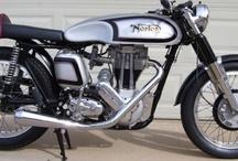 Mark's  motorcycle: / A cafe' custom 1955 es500. Dig it. / by omega lighting design .com