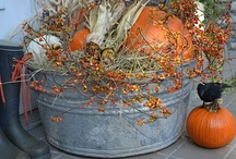 autumn home decor / by Cheryl Stroh