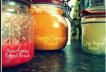 diy scrubs, lotions, and for the bath / by Cheryl Stroh