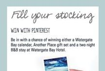 Watergate Christmas Stocking / * Thank you for all of your entries, this competition is now closed *   Join in our Christmas competition using #fillyourstocking. Post pictures of Watergate Bay and your festive pets and WIN Watergate goodies!   / by Watergate Bay Hotel