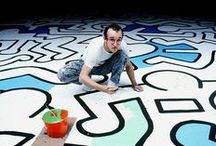 Keith Haring: The Political Line / Keith Haring: The Political Line explores the political dimension of Keith Haring's life and art work. Opens November 8, 2014. / by de Young Museum