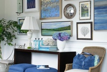 .: vignettes, mantels, tablescapes :. / by Cynthia Hill