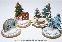 christmas cakes - cookies  / by rusyena