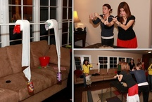 Party Ideas & Tips / Ideas of parties to throw.  Decorations for parties. Helpful party tips. / by Lindsey Gillespie