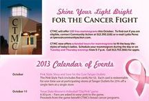Think Pink / CTMC and its pink partners have raised tens of thousands of dollars for the breast cancer fight since 2008. / by Central Texas Medical Center