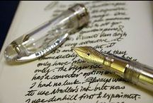 Putting Pen to Paper / I will buy pens and ink before I buy food... / by Love, LeeLee