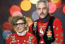 UGLYyy Christmas Sweater Party / Funny holiday party / by Sylvia Coons