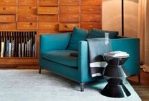 cool interiors / by Chantal Deveze