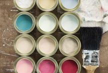 Paint It Pretty / Paint color, painting, color inspired design / by Jennifer Adkins