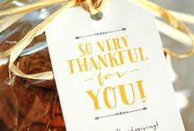 giving thanks / by Annie Montgomery