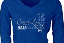 Saint Louis University Spirit / What says SLU to you? From the fleur de lis to the Billiken, show your sprit! / by Saint Louis University
