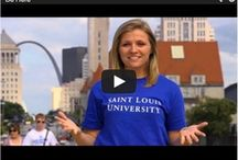 Be a Billiken: SLU / Get some help on your college search journey, from advice from admissions counselors to how to get along with your new roommate. Only from SLU.  / by Saint Louis University