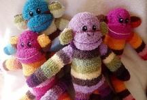 Sock Monkeys / by Juanita Beaulieu