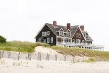 My beach house & my cabin / Beach. Beach house. Cabin. Cottage. Mountain house. Lake house.  / by Michelle Giauque