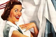 Vintage Laundry - Monday Washdays - Washok / by Kathie Lane