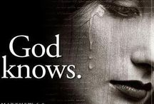 Only God Knows /  Chronic Pain. Don't judge as it could happen to you or someone you love.  / by Shannon Mitchell