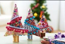 Handmade Christmas / Lots of lovely ideas for handmade christmas decorations and gifts / by Forest Flower Designs