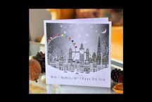 Christmas Cards Online 2013 / Well its all most here Christmas 2013! So what has UK Greeting Cards got instore to temp you! Well we have some stunning ranges of handmade Christmas cards some we have managed to get basck in stock from last year as they were top selling xmas cards and some new ranges of holiday cards. / by Handmade Greeting Cards Online UK