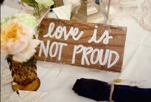 Wedding Signs / by Ashley Bostick