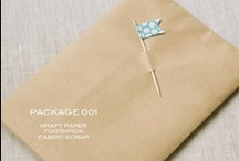 pretty packaging and paper / by Alyse Quinn