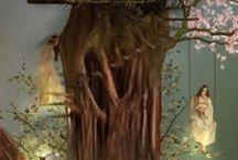 fairies  whimsy magic / Magic mystical fairies druids / by Stephanie Boulianne