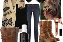 Winter outfits / by Debbie Canning-Forest