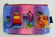 Laurel Burch Collection  / A collection of new Laurel Burch travel bags, totes, and cosmetic bags available at Maggie's Crochet.   / by Maggie's Crochet