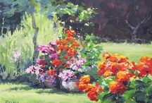 PRETTY PAINTINGS / Good art doesn't have to match your sofa! / by Pat Tarleton