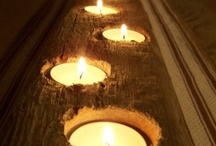 Illumination & Reflection / Images of candles, lights and mirrors / by Jenni Christmas