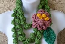 Knit & Crochet ❤ Neckwear / by Allyson Chong