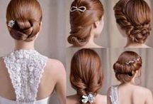 Wedding Hair Styles / Beautiful bridal hair styles for your big event! / by Perfect Bridal