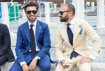 PITTI UOMO 86 | STREET STYLE / Look at these gentlemen! Here there are some of our favourite looks from the street of Florence. Which one do you like the most? / by Vrients