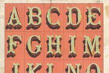 Vintage Typography / by Charles Brock