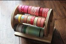 washi tape / I'm in love with this beautiful rice paper tape! / by Christina Lorraine Young