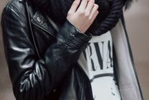Leather Jacket / by The Boston Fashionista