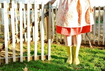 sewing skirts and dresses / by Erin Blomlie