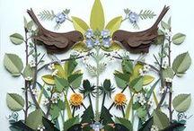 birds / pretty things, birds / by annamariam
