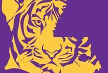 Places--Louisiana & LSU / Born in Baton Rouge, attended LSU. A celebration of Louisiana as this ex-pat knows it. / by Kaye Dacus