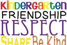 kindergarten fun / by Kristen Clardy