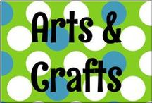 Arts & Crafts / Arts and crafts to do in teaching, at home, anywhere. / by Sara Ventrella {Miss V's Busy Bees}