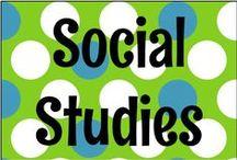 Social Studies / by Sara Ventrella {Miss V's Busy Bees}