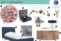 Room Recipe: Perfect Navy / Boy's Bedroom / by Workroom C by Carolyn Rebuffel Designs