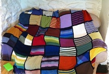 Knitted Blankets / by Merrily Me