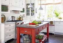 KITCHEN IDEAS / All about kitchens / by Janet Flanagan