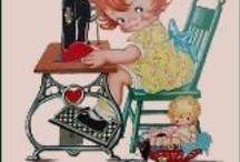 "It's ""sew"" cute / by Susan Welch"
