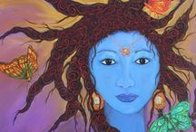 Mary, goddesses and mother earth / by Ellen Haney