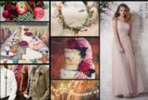 Bohemian Chic Wedding Ideas from Christina Wu / Be boho chic for your big day. Perfect ideas from Christina Wu. / by House of Wu